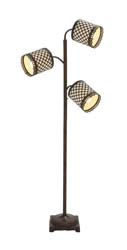 Ivy Metal 3 Arm Floor Lamp