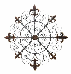 "Marta European 42"" Wall Medallion"