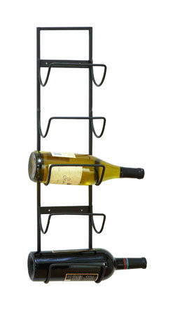 Lynn Old World Wall Wine Rack
