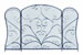 Ander 3 Panel Fireplace Screen