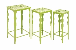 Marmashen Green Plant Stand Set Of 3