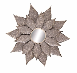 Tansy Metal Wall Mirror