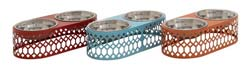 Bailly Metal Pet Feeder Set/3