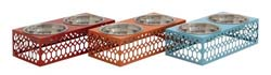 Marbuzet Metal Pet Feeder Set/3