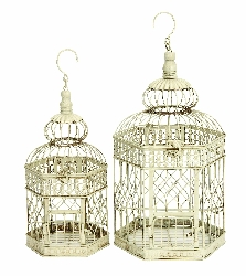 Jalen Metal Wire Bird Cage Set/2
