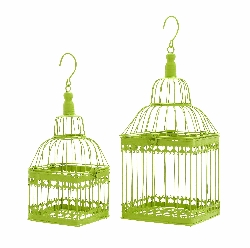 Prithvi Green Bird Cage Set 2