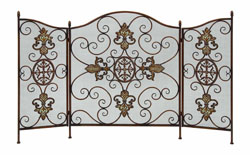 Rafa Tuscan Fireplace Screen
