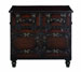 Kamron Wood & Leather Chest