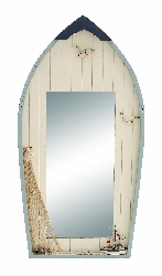 Saisha Seaside Nautical Row Boat Mirror