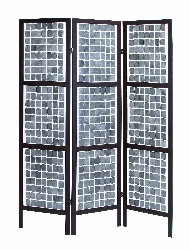 Kiya Contemporary 3 Panel Room Divider