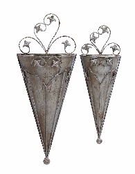Muhamad Cone Wall Planter Set 2
