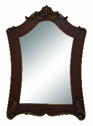 Zev Wood Wall Mirror