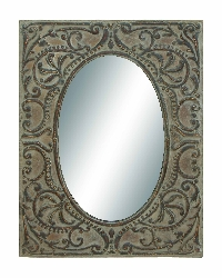 Ethan Embossed Wall Mirror