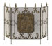 Alexandros Tuscan 3 Panel Fireplace Screen