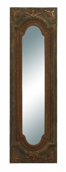 Livy Embossed Wall Mirror