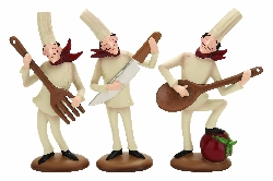 Aisley Chef Musicians Set 3