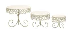 Jade For Stylish Parties Decorative Cake Stand Set