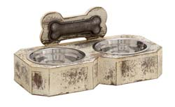 Leoville Metal Pet Feeder