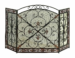 Neha Tuscan Fireplace Screen