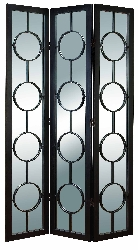 Maxi 3 Panel Mirrored Room Divider
