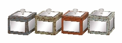 Curtis Wood Mirror Jewelry Box
