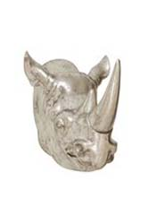 Terezin Vintage Rhino Wall Trophy Head