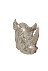 Dabu Rhino Wall Trophy Head
