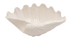 Abdel Ceramic Shell Bowl
