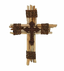 Aayansh Divine Wood Wall Cross