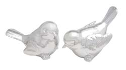 Hemlock Silver Bird Set/2