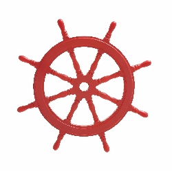 Tatev Red Wood Ship Wheel