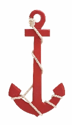 Tazagyugh Red Wood & Rope Wall Anchor