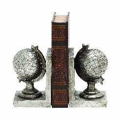 Ariela Globe Atlas Bookend