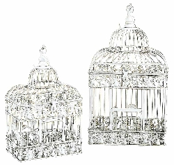 Zakary Bird Cage Set 2 Parakeet Birds Cages