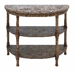 Waleed Vintage Look Console Table