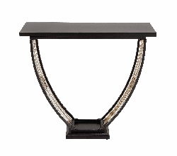 Sers Metal & Wood Console Table