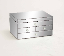 St. John's Contempo Mirrored Jewelry Box
