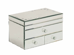 Swetes Contempo Mirrored Jewelry Box