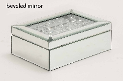Willikies Contempo Mirrored Jewelry Box