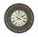 Zahraa Round Wood Wall Clock