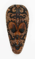 Ronen Folk Art Wall Mask