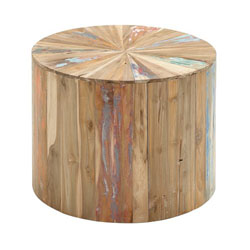 Shelton Reclaimed Wood Side Table