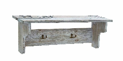 Kaylah Wood Wall Shelf