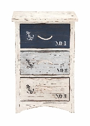 Beterou Cool Wood Nautical Chest