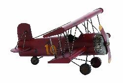 Jonny Brown Vintage Bi Airplane Model