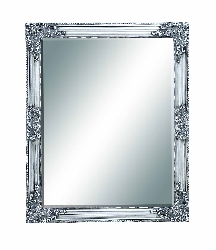 Adhvik Silver Baroque Beveled Wall Mirror