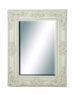 Maddox Shabby White Beveled Wall Mirror