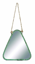 Jaslyn Green Color Rope Wall Mirror