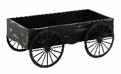 Cameryn Wood Decor Cart
