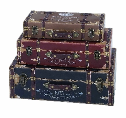Sant Antioco Dark Luggage Set 3